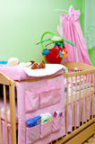 Colorful crib Stock Photos