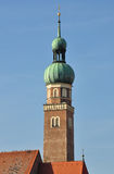 Church Sankt Veit in Straubing, Bavaria Royalty Free Stock Photography