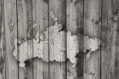 Map of Russia on weathered wood. Colorful and crisp image of map of Russia on weathered wood Stock Photo