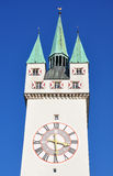 Tower in Straubing, Bavaria Royalty Free Stock Image