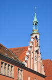 Town Hall in Straubing, Bavaria Stock Images
