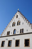 Traditional building in Straubing, Bavaria Royalty Free Stock Photos