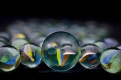 The Colorful Cristal Marbles Stock Image