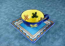 Colorful crockery Royalty Free Stock Photo