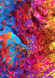 Colorful crumpled background Royalty Free Stock Image
