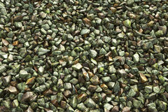 Colorful crushed gravel Royalty Free Stock Photography