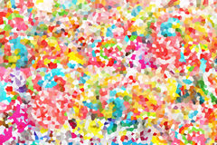 Colorful Crystal Background Royalty Free Stock Photography