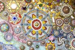 Colorful crystal background art Phasornkaew Temple Khao Kho, Phe Royalty Free Stock Photography