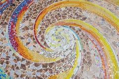 Colorful crystal background art Phasornkaew Temple Khao Kho, Phe Stock Image