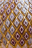 Colorful Crystal Pattern Decoration Stock Photos
