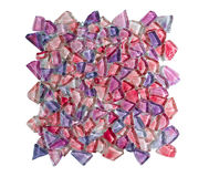 Colorful crystal wall tile Royalty Free Stock Images
