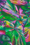 Colorful Crystals stock image