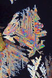 Colorful crystals macro Stock Photos