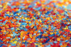 Colorful crystals Stock Photos