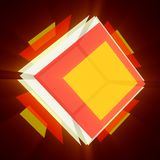 Colorful cube 2 Royalty Free Stock Images