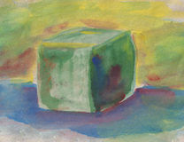 Colorful cube Royalty Free Stock Photography