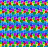 Colorful cubes. Background of different rows of colorful cubes Stock Photo