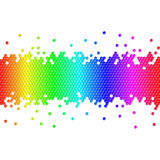 Colorful cubes background Stock Image