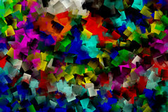 Multi colored cubes wallpaper. Colorful cubes , multi colored cubes wallpaper Stock Photos