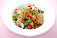 Colorful cuisine. Asian delicious cuisine in a plate stock photos