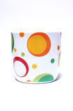 Colorful cup Stock Image