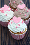 Colorful Cup Cake Royalty Free Stock Photos