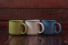 Colorful cup Royalty Free Stock Image