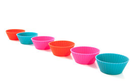 Colorful cup holders Royalty Free Stock Photos