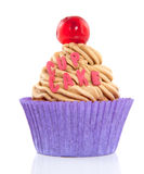 A colorful cupcake Stock Image