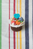 Colorful cupcake Royalty Free Stock Photo