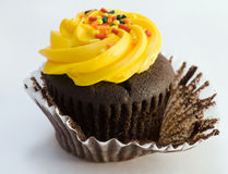 Colorful cupcake treat Royalty Free Stock Images