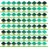 Colorful Cupcakes background  Royalty Free Stock Photos