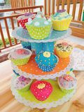 Colorful cupcakes Stock Image