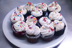 Colorful cupcakes Royalty Free Stock Photography