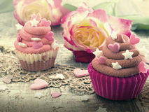Colorful cupcakes Royalty Free Stock Photos