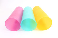 Colorful cups Stock Photography