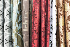 Colorful Curtain Stock Images