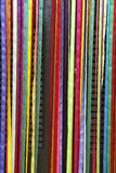 Colorful Curtain Carnival Ribbons Brazilian Door Royalty Free Stock Photos