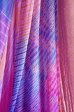 Colorful curtains Stock Photo