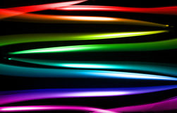Colorful curve abstract. Stock Photos