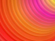 Colorful curve of cylinder. Red pink yellow colorful curve of cylinder background Stock Images
