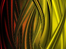Colorful curves Stock Photography