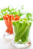 Colorful cut vegetables Royalty Free Stock Image