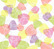 Colorful cute seamless pattern Royalty Free Stock Photos