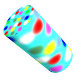 Colorful cylinder Stock Photos