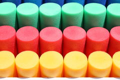 Colorful cylinders Royalty Free Stock Images