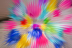 Colorful 3D background Stock Photography