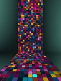 Colorful 3d lights. EPS 8. Vector file included Royalty Free Stock Image