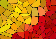 Colorful 2D mosaic abstract background - Illustration for web. Flat Style colorful mosaic abstract background Royalty Free Stock Photos