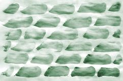 Colorful dark green watercolor background for wallpaper. Aquarelle bright color illustration.  royalty free stock image